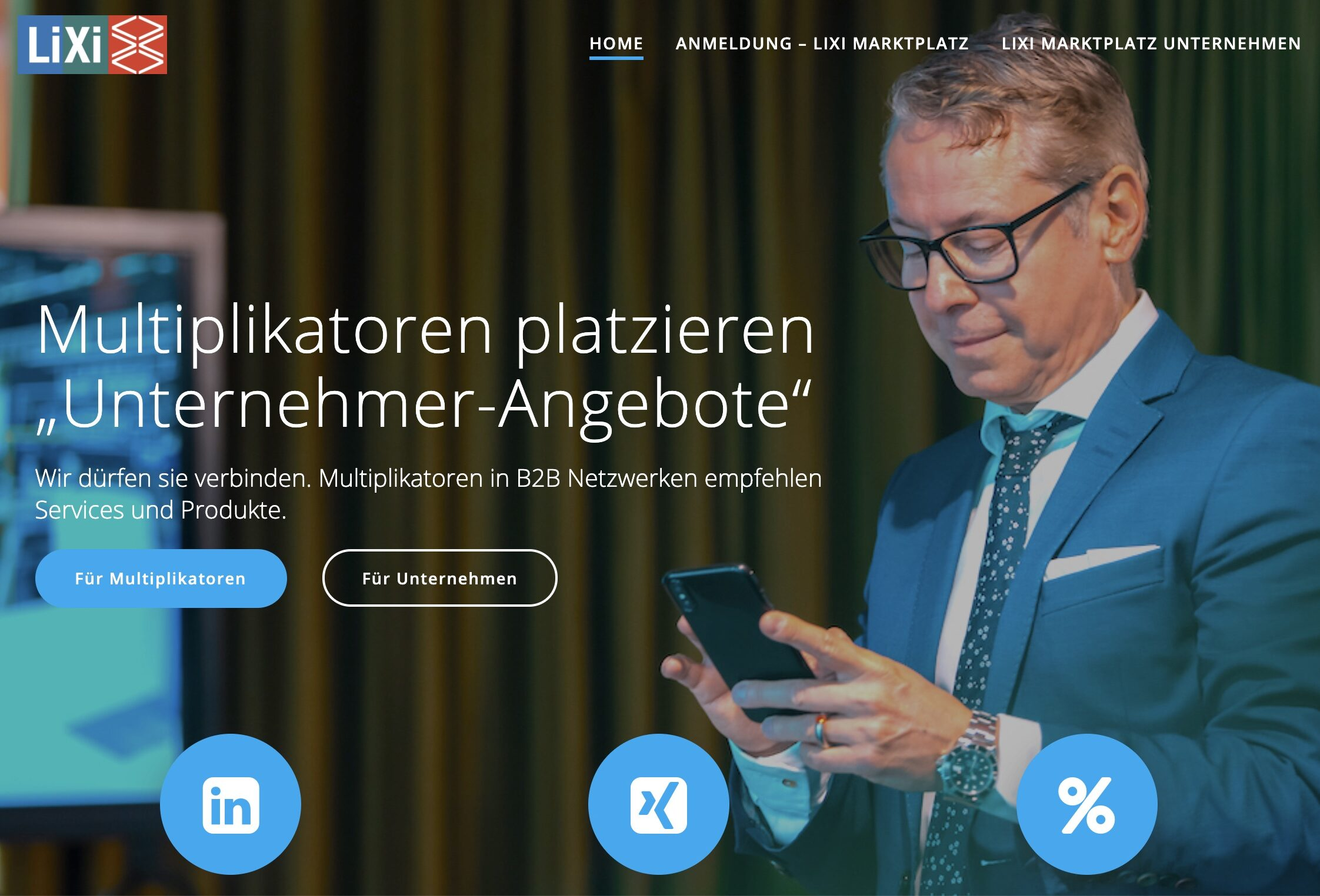 2020 LiXi Gestaltung Internetseite Blog Shop Betreuung Programmierung Concierge Gerry Deeseo