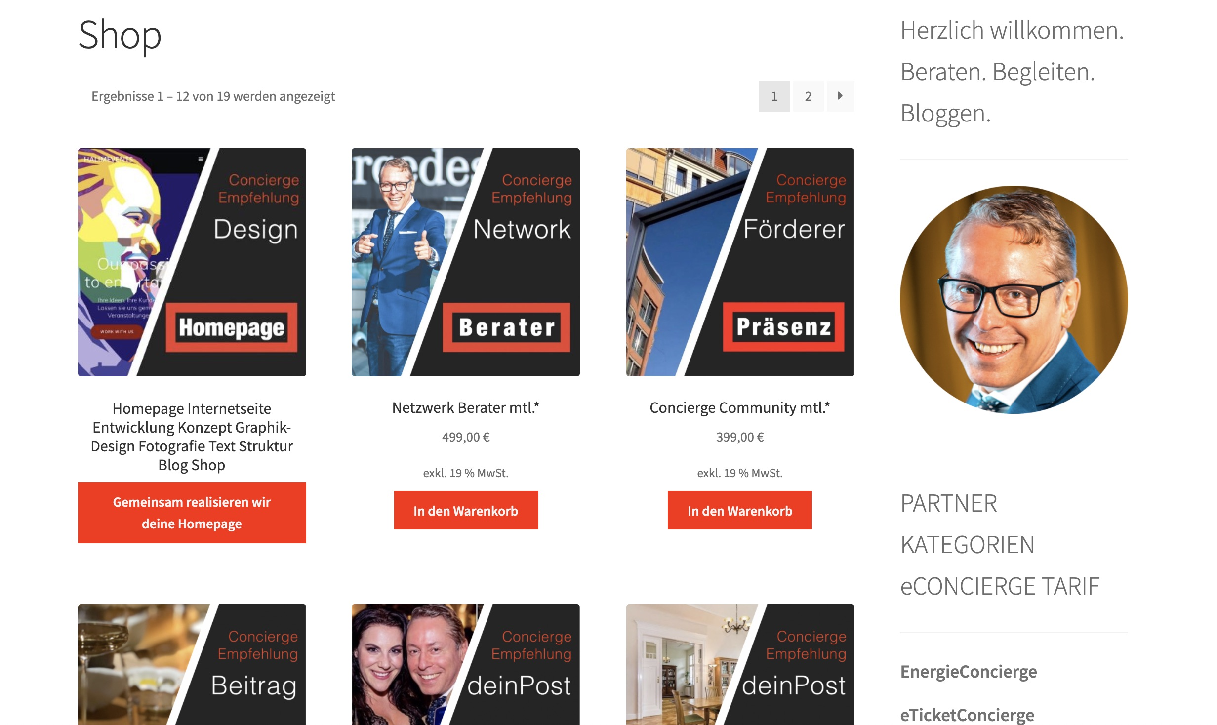 deeseo Design SEO Webdesign Website Webseite Homepage Blog Shop PromoConcierge