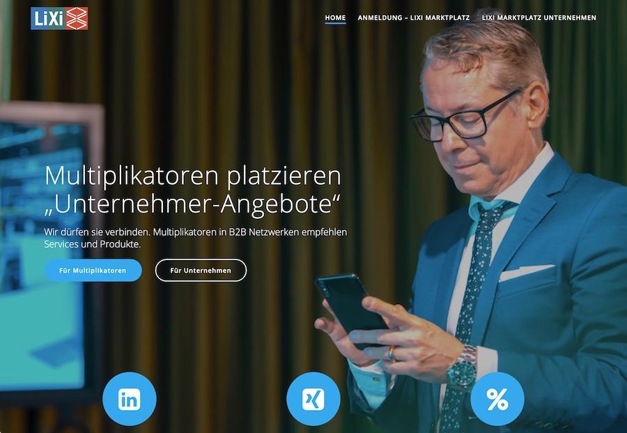 LiXi Gestaltung Internetseite Blog Shop Betreuung Programmierung Concierge Gerry Deeseo