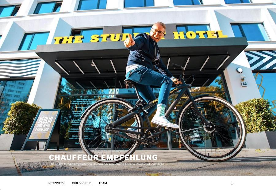 deeseo Design SEO Webdesign Website Webseite Homepage Blog Shop thenightdriver Chauffeur Empfehlung